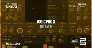 Atelier #electroLAB • Logic Pro X, avec Narcis